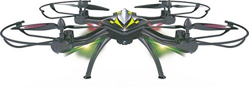Jamara 422021 - F1X VR Altitude FPV Wifi Kompass Flyback - Race Drone, inklusiv VR-Brille, über Sender und App steuern, 3 Geschwindigkeiten, 40 KM/h, Höhenkontrolle (Barometer) und Rückflugautomatik - 6