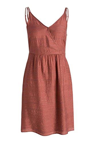 Esprit 056ee1e008-Stripeder Optik, Robe Femme Rose - Rosa (DARK OLD PINK 675)