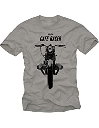 Tee Shirt Moto Cafe Racer Vintage BOXER TWIN Homme