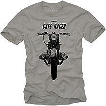 Cafe Racer - Camisetas de motos clasicas hombre
