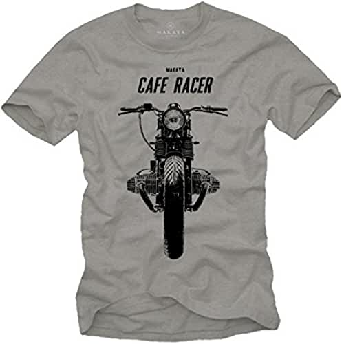 dia del orgullo friki Cafe Racer - Camisetas de motos clasicas hombre