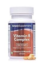 Vitamin B Komplex - Geeignet für Veganer - 120 Tabletten - SimplySupplements