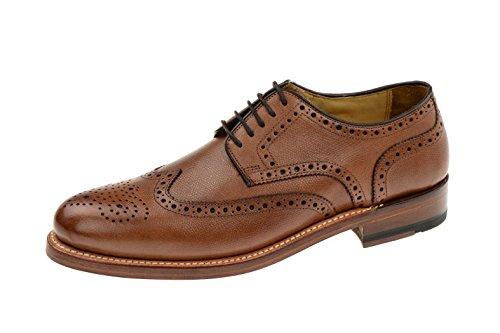 Gordon & bros homme levet 2318 homme businessschuhe, b, schnürhalbschuhe anzugschuhe goodyear, chaussures, derby Marron - alpine tan