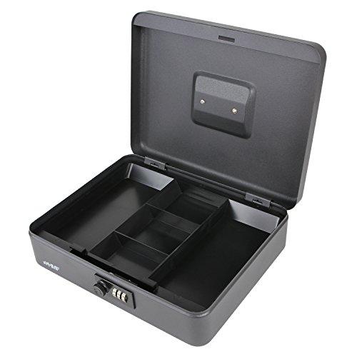 HMF 10017-02 Caja de caudales, cerradura de combinación 30 x 24 x 9 c