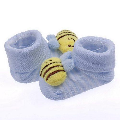 Smile YKK 0-6 mois Bébé Unisexe Garder Bottes de neige Chaussures en 3D Design Jaune Abeille