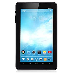 "iRULU eXpro 1Pro Tablet (X1Pro) 9"" Google Android 4.4 KitKat Quad Core 8GB Tablet PC- Fronte nera e dietro nero"