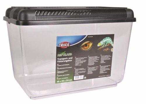 Trixie 76303 Transport- und Fütterungsbox, 38 × 26 × 24 cm