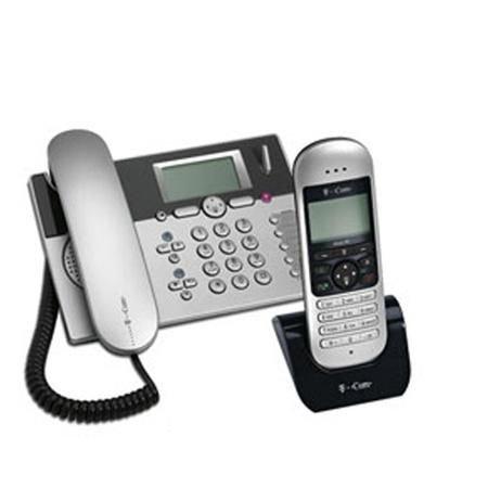 T-Com Sinus PA 101 plus 1, Tischtelefon plus DECT Mobilteil inkl. Ladeschale