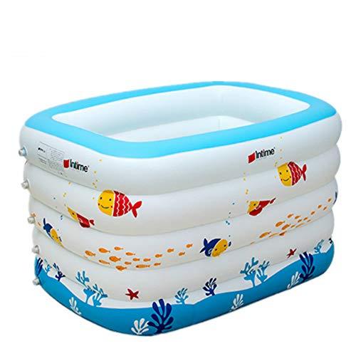 XC Fünf-Ring-Druck Bubble Bottom Baby Pool Aufblasbarer Pool -