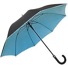 SMATI Paraguas Largo Doble-Tejidos automático Antiviento - Muy Sólido
