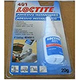 Henkel - Loctite 401 Bc 20G Adhesivo Instantáneo Uso General
