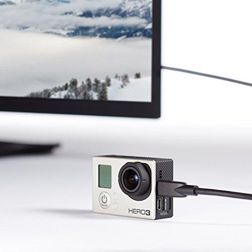 AmazonBasics - Cavo ad alta velocità micro HDMI su HDMI, standard più recente,0.91 metri