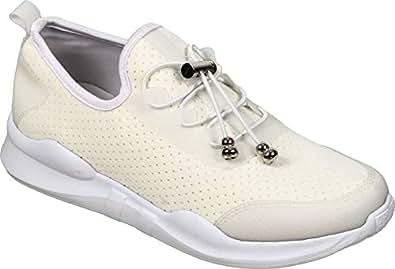 Lavie Women's White Sneakers-5 UK/India (38 EU)(FZFE644021M)