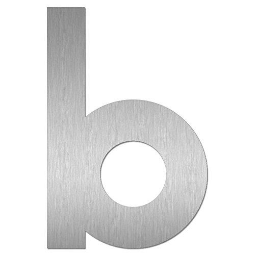 Heibi Hausnummer MIDI Buchstabe b Edelstahl zum Kleben 64591-072