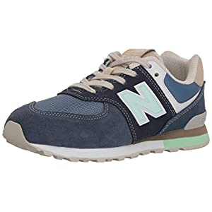 New Balance Youth GC574 Leather-Textile Entrenadores