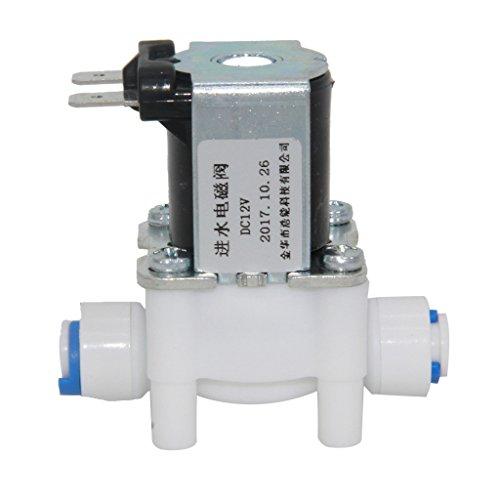 Sourcing Map /Électrovanne /à eau DC 12 V NO normalement ouvert