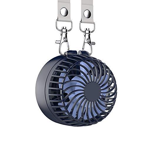 GH-Ghawk Halskette Fan, Persönlicher Wiederaufladbarer Lüfter mit 2200 mAh Akku und 3 Einstellungen, 5-16 h Betriebsstunden, 180 ° Drehbare, freie Einstellung für Camping/Outdoor/Reisen