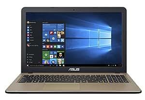 Asus X540LJ-XX170T Portatile, Display da 15.6 pollici HD LED, Processore Intel Corei5-5200U, RAM 4 GB, Hard Disk da 1TB, Scheda Grafica NVIDIA GeForce GT 920 da 2 GB DDR3, Marrone/Nero