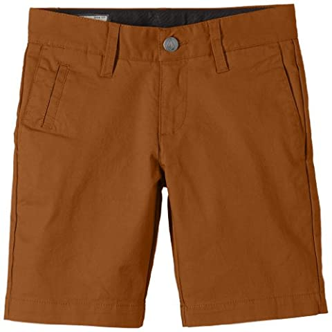 Volcom Frickin Tights Boys' Shorts Brown hazelnut Size:26