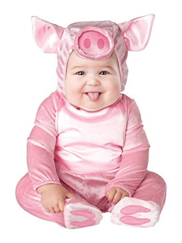 Kleines Schweinchen Baby Kostüm - 6-12 Monate (Kleine Schweinchen Kostüm)