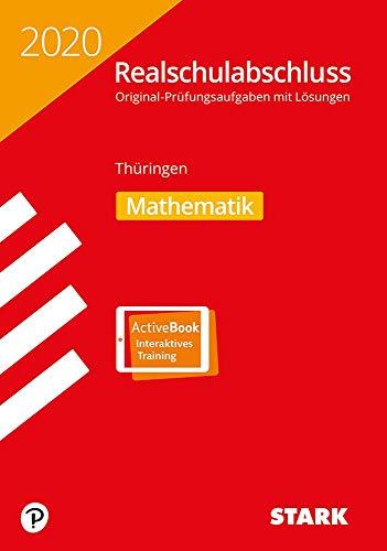STARK Original-Prüfungen Realschulabschluss 2020 - Mathematik - Thüringen