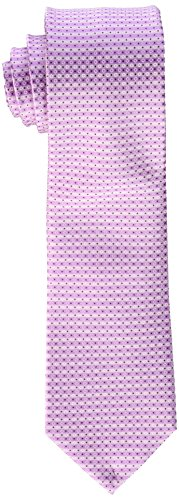 kenneth-cole-reaction-mens-micro-dot-print-tie-pink-one-size