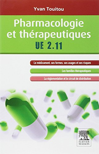 PHARMACOLOGIE ET THERAPEUTIQUES UE2.11