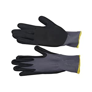 S7 gants de jardinage en cuir et élasthanne flexible