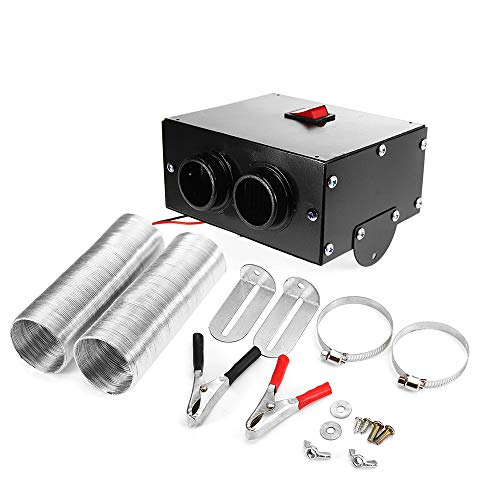 Carrfan Calentador Ventilador Carro Carro 500W 12V
