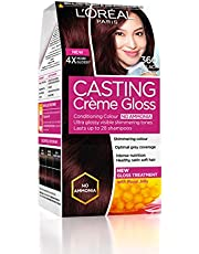 L'Oreal Paris Casting Creme Gloss Hair Color, Black Cherry 360, 87.5g+72ml