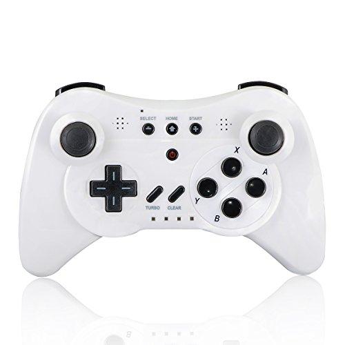 QUMOX Controlador Mando de Juego Portátil Gamepad inalámbrico de Bluetooth para la Consola de Nintendo Wii U, Bnalco