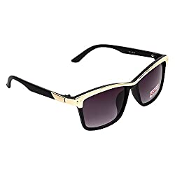 Redix New TraditionaL Black with Golden Bar Sunglasses For Mens and Womens