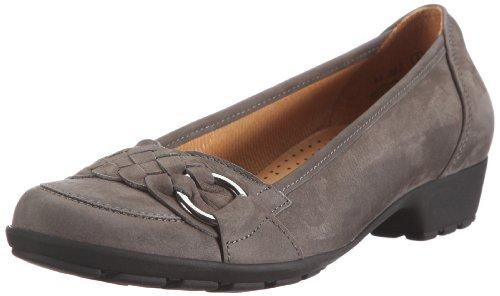 Gabor Shoes Gabor 44.362.19 - Bailarinas de Cuero Nobuck para Mujer, Color Gris, Talla 43