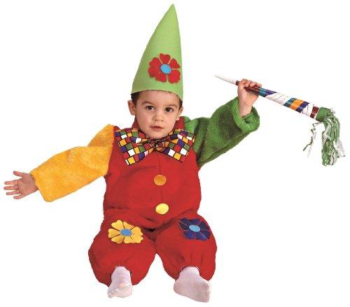 Rio - 155.067 / TG01 - Bambini Costume - Le Petit Clown peluche - 2-3 anni