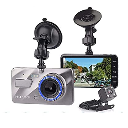 Auto-DVR-Dashcam-Neue-Dual-Recorder-Voiture-Auto-in-Auto-Videokamera-Full-HD-1080P-4IPS-Fahrzeug-Blackbox-Laufwerk