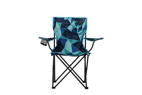 Portail extérieur Unisexe House Dub Pliable Chaise de Camping, Multicolore, 51 x 41 x 45 cm