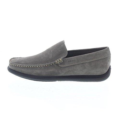 FRAU 14C4 rocher homme mocassins en daim chaussures Grigio