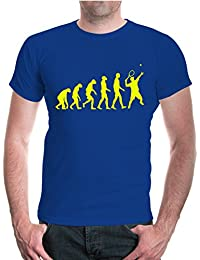 buXsbaum® T-Shirt The Evolution of tennis | sport tenis partido