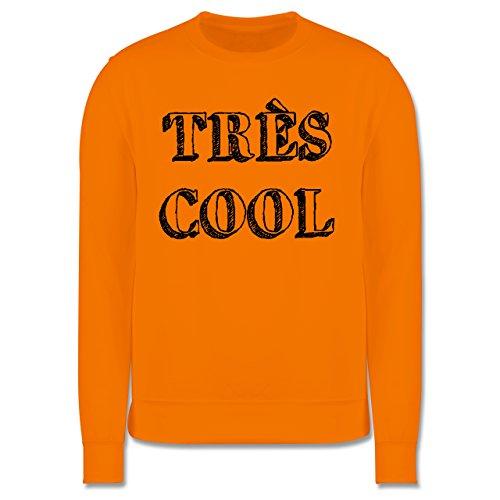 Statement Shirts - Très cool - Herren Premium Pullover Orange