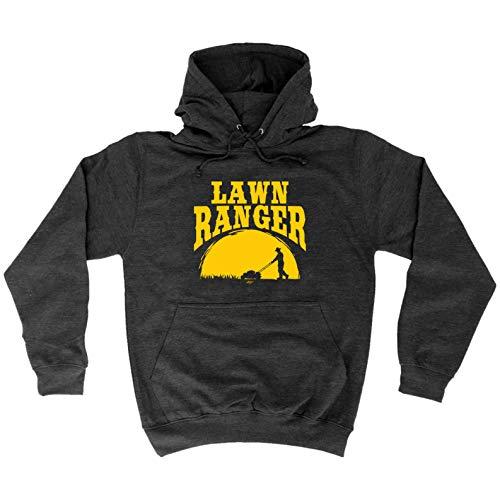 123t Funny Hoodie - Lawn Ranger ...