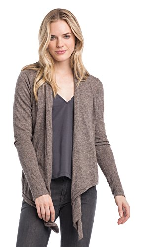 Synergy Organic Clothing Metamorphose Cardigan Spice Brown