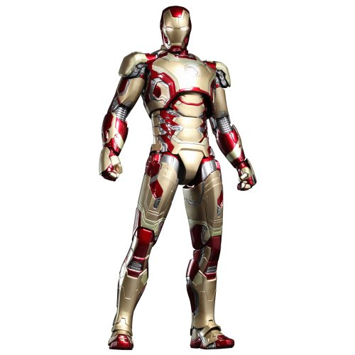 Iron Man Hot Toys Movie Master Piece 3 Mark 42 XLII Diecast Figure