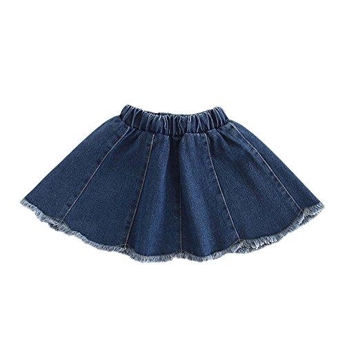 Niñas Falda Vaquera Faldas Cortas Cintura Alta Faldas