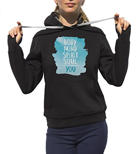 Kris Talas | Body | Mind | Soul | Spirit | You | Me | I | Hoodies Black