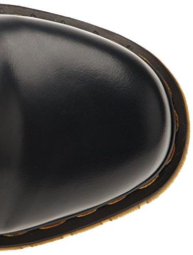Dr. Martens Unisex-Erwachsene 1460 Milled Stiefel Blau (Navy 412)