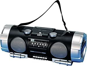 AEG SRR 4317 Radio portable CD / mp3 230 V Noir