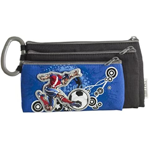 Triple Deluxe-Astuccio Strike'pallone staccabile - Deluxe Pencil Case