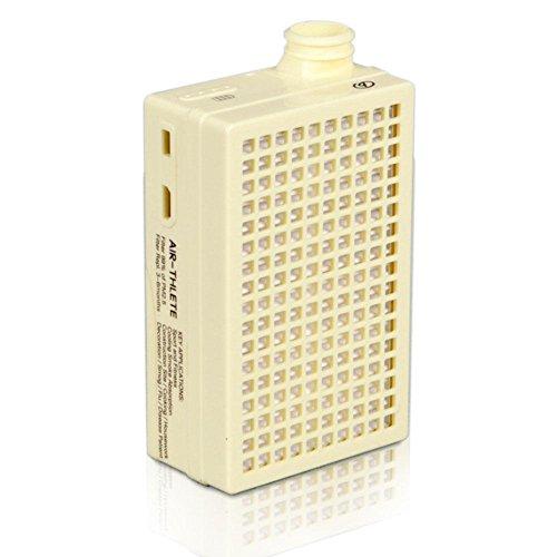 Mobile Lungen tragbare tragbare Luftreiniger Anti-Fog Masken Luftreinigung Maschine im Freien , yellow (Luftreiniger Mobile)