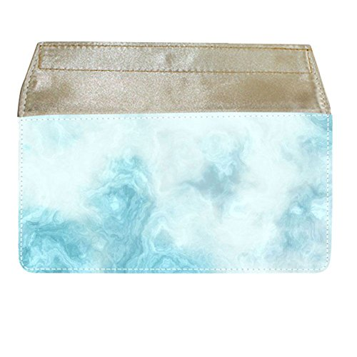 For Boys Have With Marble 1 For Money Bag Cotton Fabric Drop Resistance (Velcro Wallet Womens)