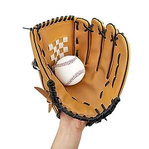 Yibak Baseballhandschuhe, Extrame Sports Batting Gloves Catchers Mitt PU...